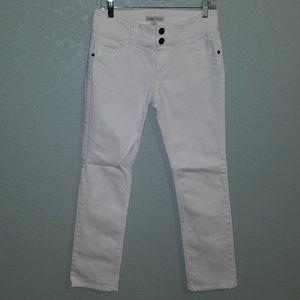 CAbi straight leg jeans